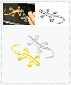 3D Auto Motorcycle Styling Applique Car Sticker Animal Gecko for BMW E34 F10 F20 E92 E38 E91 E53 E70 X5 M M3 image