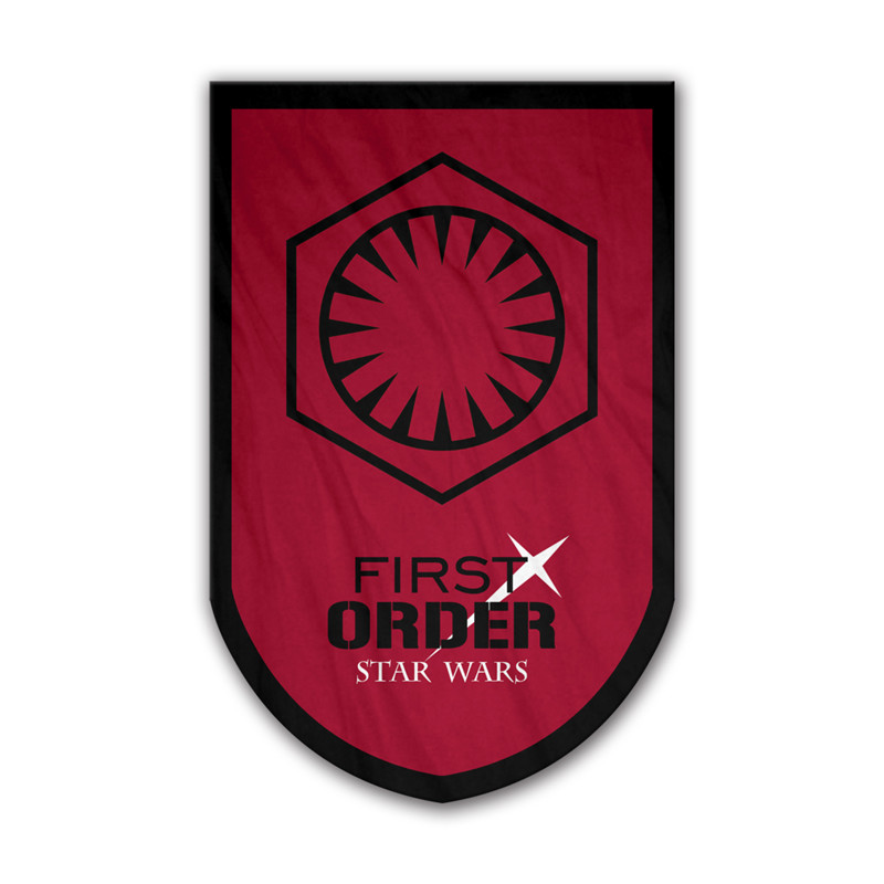 Star Wars Jedi Order Flag Banner 3x5 ft Skywalker Red