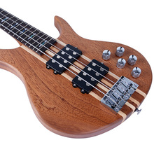Jazz Bass Electric Bass Guitar 4 String Sapele Body Rosewood Fingerboard For Professional Performance