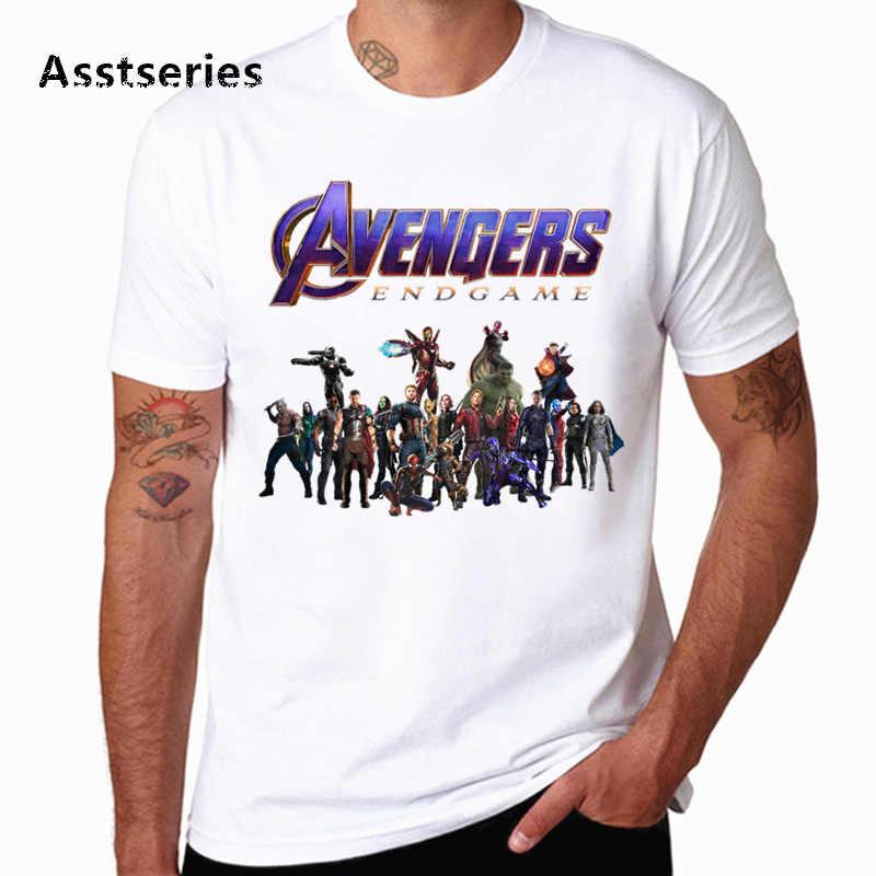 Marvel T Shirt Men/Women Avengers Endgame Iron Man Stark Funny Artsy Awesome Artwork Printed T Shirts Captain America HCP4568
