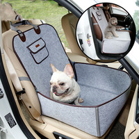 Universal Waterproof Car Retro Designer Dog Safety Carrier Storage Bags High Quality Portable Auto Front Seat