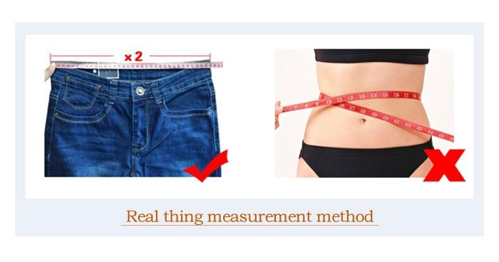 实物测量方式