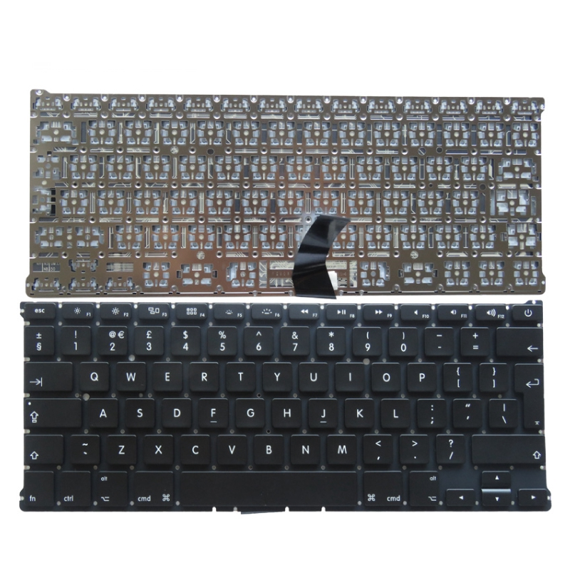 "YALUZU UK NEW Keyboard For Macbook Air 13"" A1466 A1369 with backlight Laptop keyboard MD231 MD232 MC503 MC504 2011-15 Years"