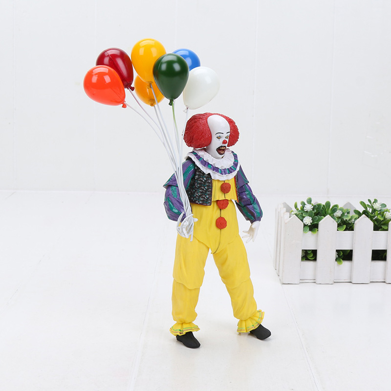 NECA 1990 The Movie IT Pennywise Joker Clown Old Edition Action Figure Toys Dolls For Halloween Decoration Horror GiftNECA 1990 The Movie IT Pennywise Joker Clown Old Edition Action Figure Toys Dolls For Halloween Decoration Horror Gift