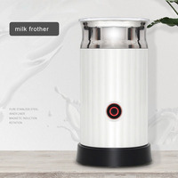Automatic Milk Frother Machine Hot and Cold Coffee Electric Milk Machine Stainless Steel Inner Milk Foam Home Cappuccino 220V