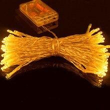 Праздничное tanbaby свадьбу батарейках мигающий фея веревки светодиод индикатор строка рождество