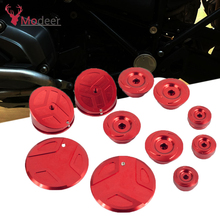 Frame Hole Cover Caps Plug Decoration For BMW R1200GS LC Adventure R 1200GS 2014-2018 R1250GS Adv R1250 GS R 1250GS 2019 цены