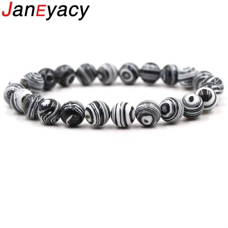 Купить janeyacy 2018 8 мм европейский модный браслет для пар с дистанционным