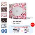 Rose Floral Caja Dura Mate Para Macbook Air 11 de Aire 13 Pro 13 Pro 15 Retina 13 15 Caso Para Macbook Pro Caso 15 Protector de Pantalla
