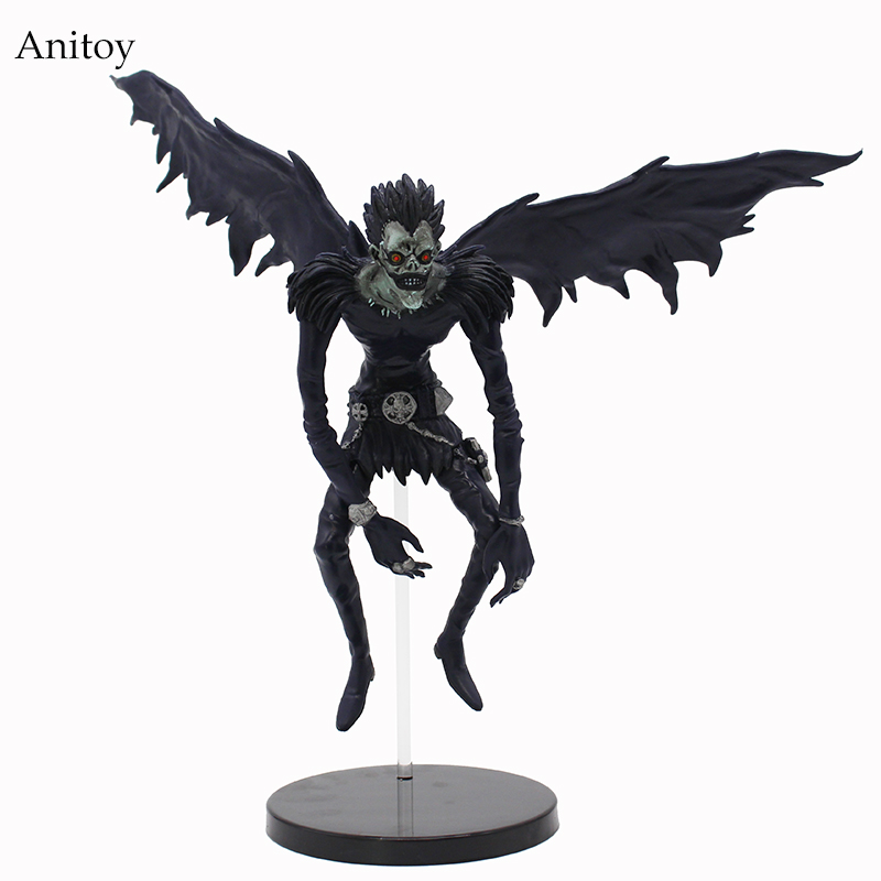 Anime Death Note Deathnote Ryuuku PVC Action Figure Collection Model Toy Dolls 7 18cm OF016 neca marvel legends venom pvc action figure collectible model toy 7 18cm kt3137