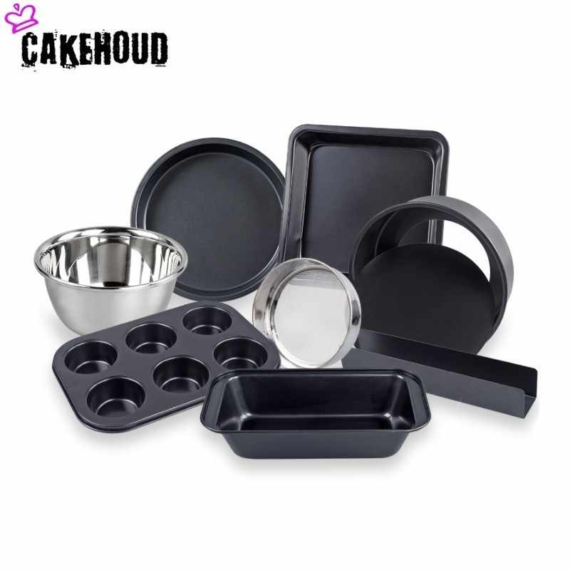 Cakehoud New Kitchen Baking Tools Set Oven Home Beginners Make Biscuit Cake Dly Pastry Mold Carbon Steel Pizza Making Tools Bakeware Sets Aliexpress