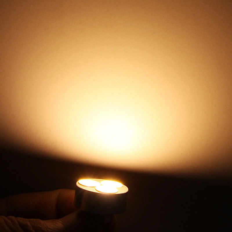 Высокая Мощность G4 5 Вт, теплый белый свет/холодный белый 3 COB Светодиодный свет лампы AC/DC 12 V Светодиодный прожектор для внутреннего освещения