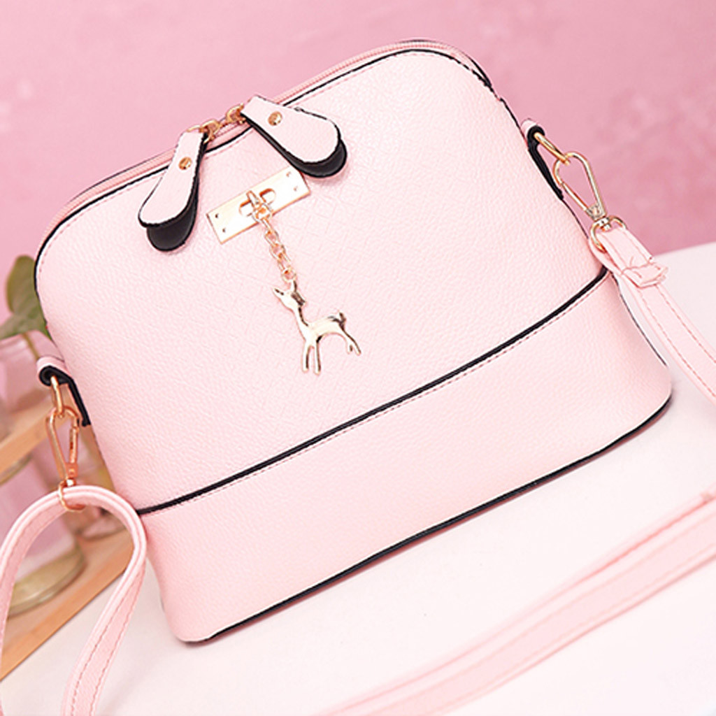 Brand Women Bags Women Messenger Handbagss Fashion Mini Bag Deer Toy Shell Shape Bag Shoulder Bags Messenger Bolso Sac A Main