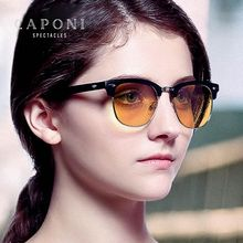 Caponi  Polarized Photochromic Sun Glasses Women Round Retro Frame Shades For Female Driving Sunglasses BSYS5154 new laptop cooling fan for toshiba satellite a200 a205 a210 a215 toshiba satellite l450 l450d l455 l455d cpu cooler radiator