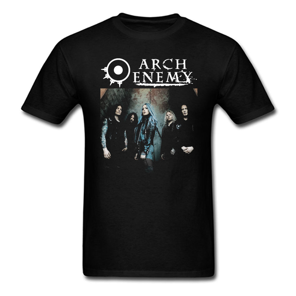 New Arch Enemy Pure Fucking Metal Black T Shirt Pluse Size XS-3XL Cotton Short Sleeve O Neck Brand Clothing Top Tees Tshirt