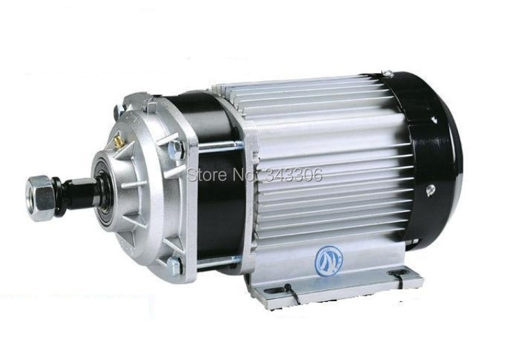 48V 1000W PMDC Brushless Motor Electric Scooter Reduction