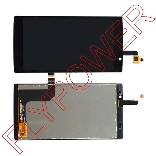 for Acer Liquid Z500 LCD Display + Touch Screen Digitizer Glass Assembly black by free shipping