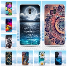 Cartoon 3D Relief Printing Pattern Back Cover TPU Soft Silicone Case Coque Capa Funda For Meizu M6 Note/Blue Charm Note 6 Note6