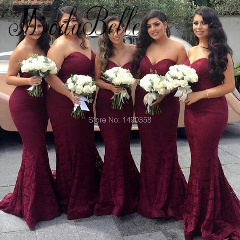 Online buy wholesale burgundy color dresses from china for Wine colored wedding dresses