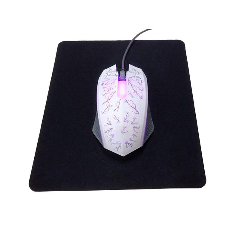 Musemattespil Musemåtte til pc Optisk laser trackballmus Notebook PC Gummi antislip musemåtte (5stk)