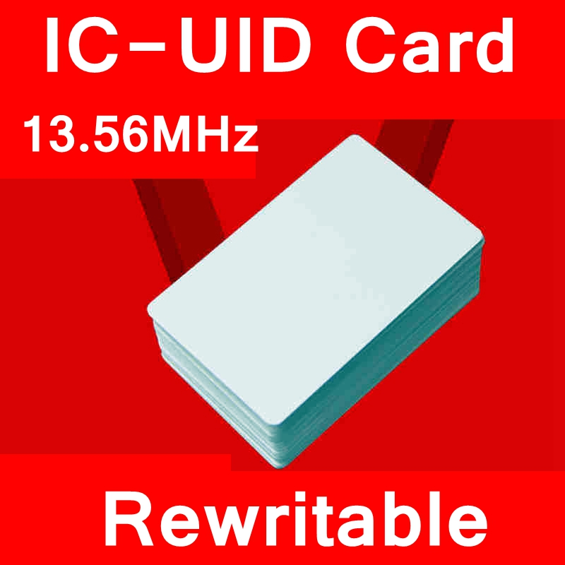[ReadStar]IC-UID Blank card IC-UID Chinese magic card 13.56MHZ rewriteable blank IC Card MI S50 Card clone copy entrance
