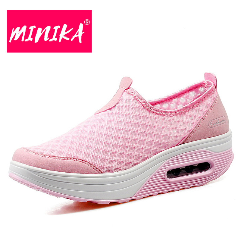 MINIKA Solid Colors Fashion Sneakers Women Shallow Slip on Flat Shoes Women Durable Outsole Breathable Women Loafers Shoes fashion boutique huanqiu fashion women canvas shoes low breathable women sneakers solid color flat shoes casual candy colors l