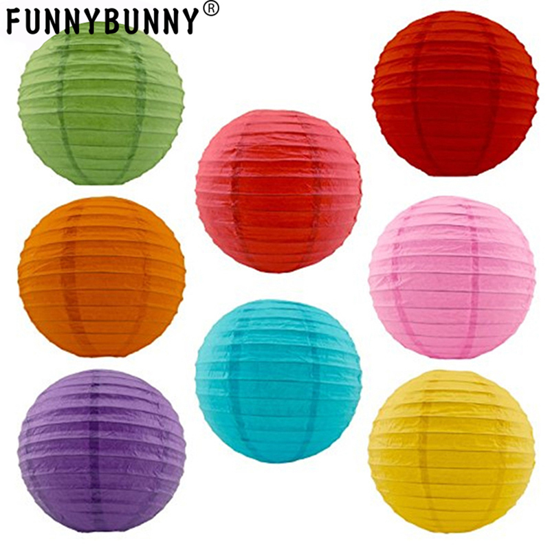 Event & Party Handmade With Weather-resistant Funnybunny 20cm Festival Lantern Home And Garden Original 8inch Round Led Outdoor Solar Lantern