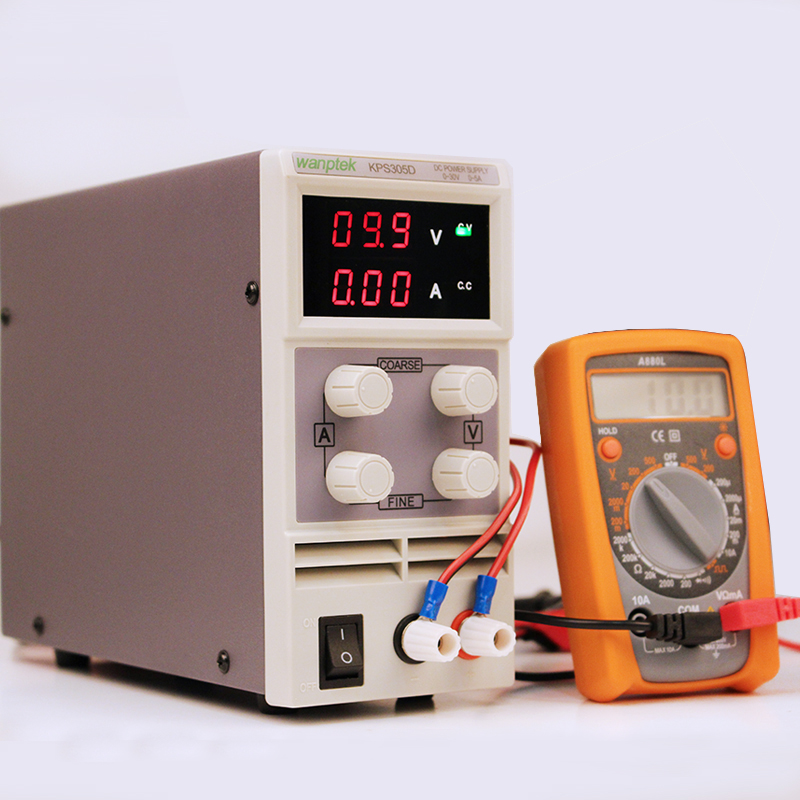 Adjustable laboratory Switch DC power supply KPS305D 30V 5A 0.1V 0.01A Digital Display Voltage Regulators Mini DC Power SupplyAdjustable laboratory Switch DC power supply KPS305D 30V 5A 0.1V 0.01A Digital Display Voltage Regulators Mini DC Power Supply