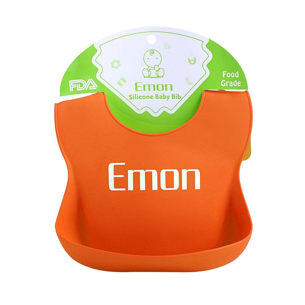 SB0002 Baby silicone bibs waterproof plastic adjustable Children's summer's baby Feeding Tools bibs easy clean& FDA certified  (7)
