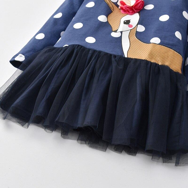 HTB1ACyEXoLrK1Rjy0Fjq6zYXFXaP VIKITA Kids Girls Dress Baby Children Toddler Princess Dress Vestidos Children's Clothing Girls Winter Dresses 2-8Y LH5805 MIX