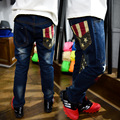 2016 boys jeans trousers new children's trousers baby clothes pants