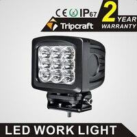Super Bright 5 2 90W Led Work Light Lamp Square Motorcycle Truck Led Work Light Bulbs