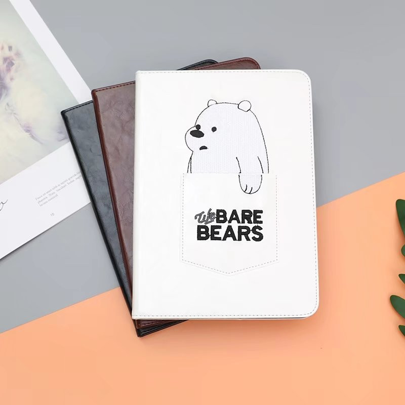 Case for iPad air 1/2 Pro 9.7 for iPad 9.7 inch 2017/2018 release 6th YRSKV Intelligent sleep embroidery pocket bear shell bap 6th single album rose a ver release date 2017 03 08
