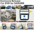 DVD PLAYER DO CARRO APTO PARA Samand Áudio Do Carro GPS Navi bluetooth radio controle volante mapa câmera
