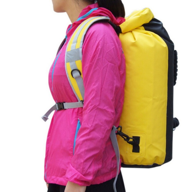 9648aff68a34 USA Send Outdoor Adjustable Dry Sack Swimming Bag Shoulder Strap Bag Strap  Rafting Outdoor Sport Bag