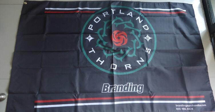 portland thorns flag , 90X150CM size,100% polyster, ...