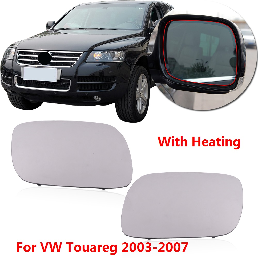 Volkswagen Cabrio Rearview Mirror Rearview Mirror For: CAPQX 1Pair With Heating Outer Rearview Mirror Glass For
