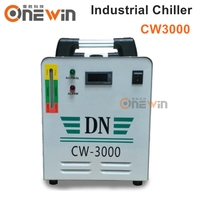 CW3000 Industrial water chiller for cooling 60W CO2 laser tube 3KW spindle motor UV lamp beads