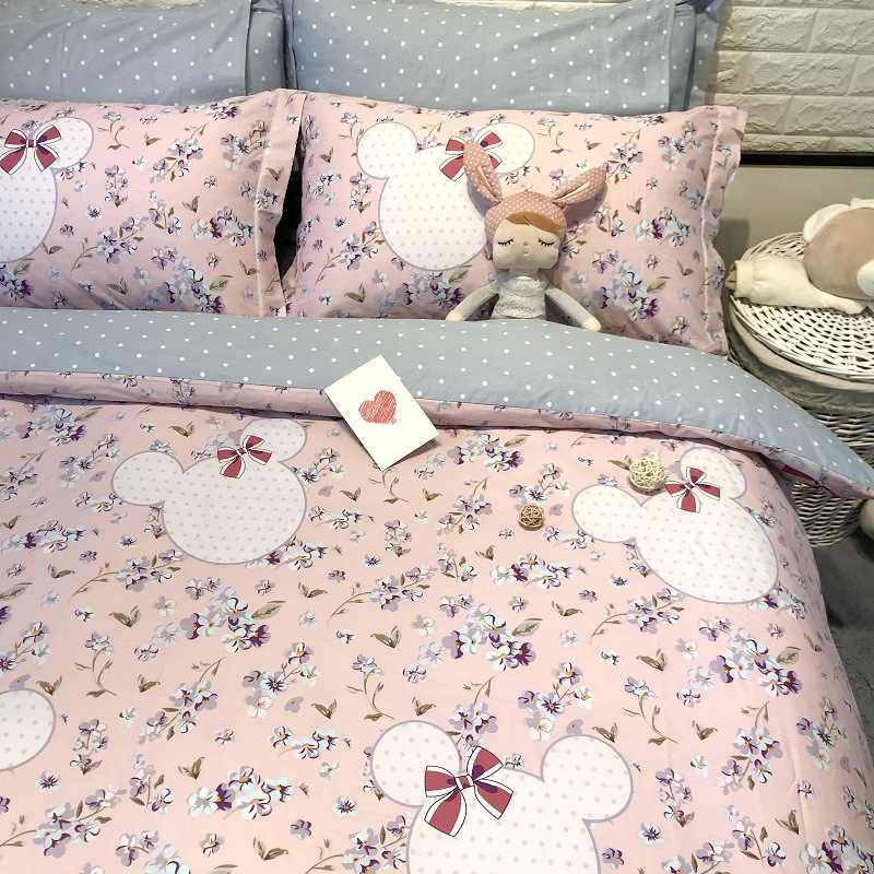 Funda Nordica Mickey Y Minnie 150.Detail Feedback Questions About Kids Bedding Set Minnie Mouse