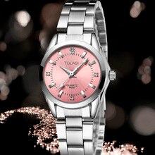 2017 tolasi brand Fashion watch women's Rhinestone quartz watch relogio feminino the women wrist watch dress  watch reloj mujer