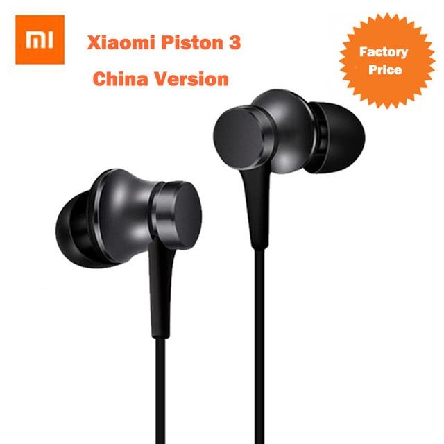 D'origine mi Piston 3 xiaomi Écouteur avec mi c In-Ear xiaomi écouteurs Casque pour iPhone iPad Samsung écouteur xiaomi
