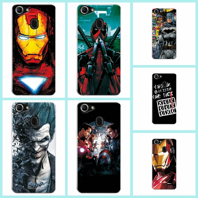 separation shoes f749f 98fb3 US $1.17 20% OFF|Charming Painted Back Cover Case For OPPO F7 6.23