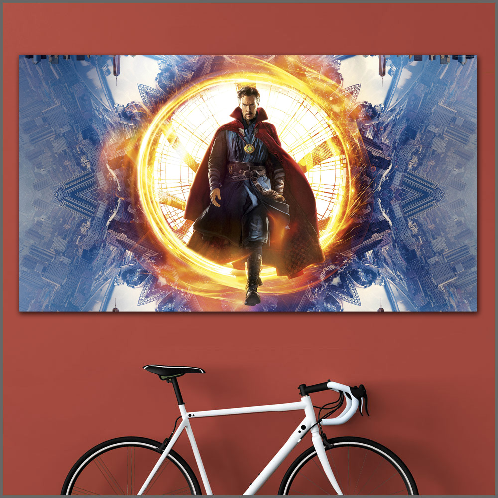 Large Size Oil Painting Magical Men Doctor Strange 1 Wall Art Canvas Prints Pictures For Living Room And Bedroom No Frames WLONG