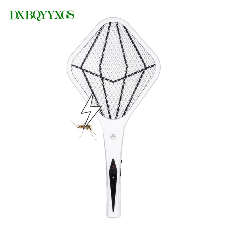 DXBQYYXGS 2018 Rechargeable Electric Insect Bug Bat Wasp Mosquito Zapper Swatter Racket anti mosquito killer Electric USB plug