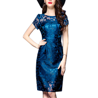 Plus Size 4XL Women Dress Pretty Sexy Women Dress O neck Embroidery Dresses Female Hollow out Vestidos Summer Bodycon Dress