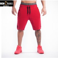 2016 Quality Men Golds Brand Gym Fitness Running Sport Shorts Mens Professional Bodybuilding Training Short Pants