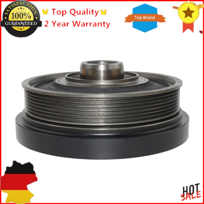 AP02 New Crankshaft Pulley LHG100580 For Land Rover Defender Cabrio Discovery 2 MK2 MK II 2.5 Td5 15PAP02 New Crankshaft Pulley LHG100580 For Land Rover Defender Cabrio Discovery 2 MK2 MK II 2.5 Td5 15P