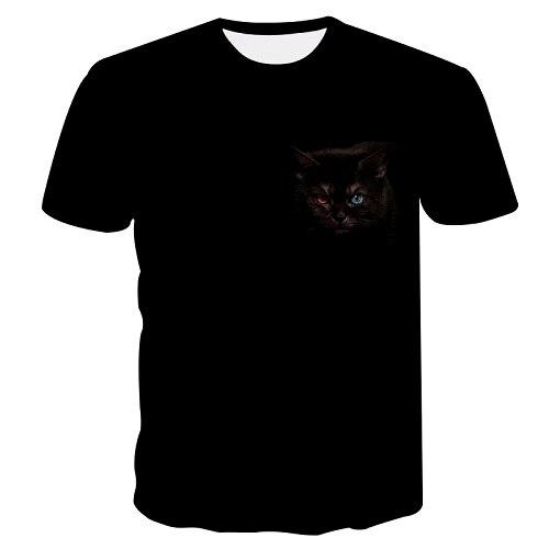 9caddab3f Detail Feedback Questions about Black Cat T Shirt Never Shout Never Weed  Leaf Alien Kitten rainbow 3d t shirt Women Men Summer Style tees M 5XL on  ...