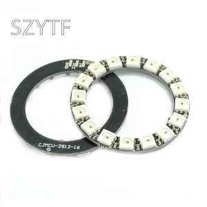 16 bit WS2812 5050 RGB LED Smart full-color RGB lamp ring development board - big ring
