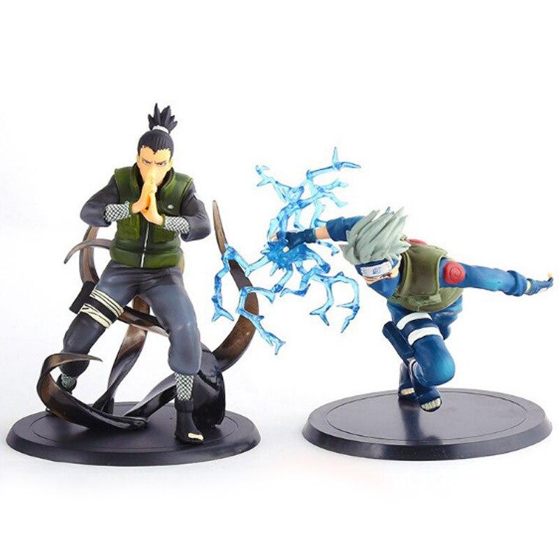 Naruto Kakashi toys 2017 PVC Naruto Kakashi Shikamaru Naruto action figure toys for adults